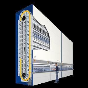 Hanel Rotomat vertical carousel storage